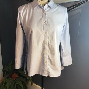 Ann Taylor button down shirt sz 2